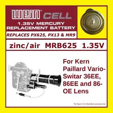 Battery for Kern Paillard Vario-Switar 36EE, 86EE and 86-OE Lens - PX13 - 1.35 V