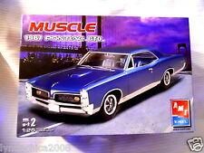 Vintage Muscle 1967 PONTIAC GTO 1:25 Model Car Kit AMT ERTL