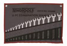 TENG TOOLS 6515mm 15 pezzi Set chiavi combinate 5.5 - 19MM IN ROTOLO ACCESSORI