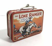 "Vintage Lone Ranger and Tonto Miniature 3"" Lunchbox - Exc Condition!"