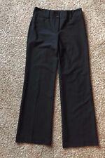 Express Design Studio Correspondent Charcoal Black Dress Pants Size 4 - 30 x 32