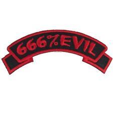 """Authentic KREEPSVILLE 666 Evil 666 Arch Patch 4.7"""" NEW"""