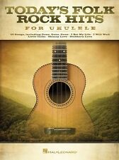 Today's Folk Rock Hits For Ukulele Learn to Play UKE Music Book