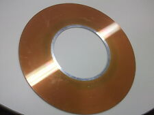 IBM 3370/3390 disk platter from 1980's mainframe hard drive 14 inch diameter 1/8