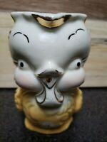 Vintage 1940's Shawnee Yellow Chicken,Creamer,Pitcher Adorable!