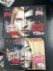 The Vampire Diaries Book Lot