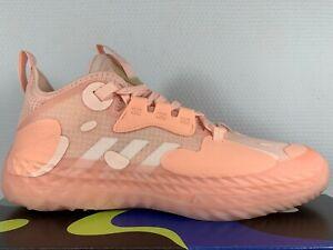 "2021 DS adidas Harden Vol. 5 ""Icey Pink"" FZ0834 Volume Basketball Lemonade BKN"