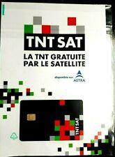 ✅ CARTE TNTSAT HD NEUVE - Décodeur Satellite ASTRA 🚀 Livraison FRANCE & EUROPE