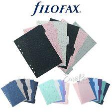 Filofax Dividers for A5 Organisers- Confetti Expressions Garden or Indigo