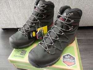 KARRIMOR : CHEETAH WTX  Walking / Hiking  Boots  **Mens Size 12 / Charcoal *NEW*