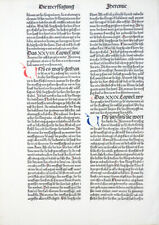 9. DEUTSCHE BIBEL BIBLIA GERMANICA INKUNABEL PROPHETEN WEISSAGUNG KOBERGER 1483
