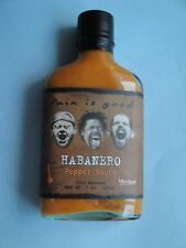 HABANERO PEPPER SAUCE Pain is Good Sriracha Hot Sauce 7oz