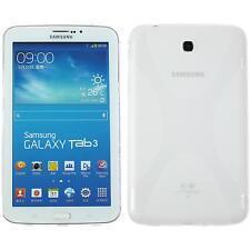 Funda de silicona Samsung Galaxy Tab 3 7.0 X-Style transparente