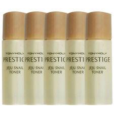 [TONYMOLY] Prestige Jeju Snail Toner Samples 5pcs - Korea Cosmetics