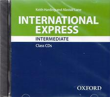 Oxford INTERNATIONAL EXPRESS 3rd Ed Intermediate CLASS AUDIO CDs @New & Sealed@
