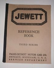 1920's Jewett Reproduction copy Reference third 3rd series