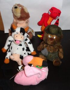 Group of 5 MEANIES BEANIES SERIES 2 with TAGS Not Played With