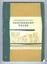 Discussions of the Canterbury Tales - ed. Charles A. Owen, Jr., D.C. Heath, 1961