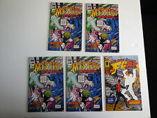1963 #1 (x4) & 2 - Mystery Incorporated - Fury - Alan Moore - Image Comics