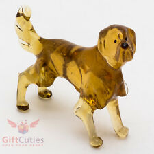 Art Blown Glass Figurine of the Golden Retriever dog