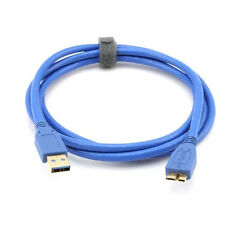 1M USB 3.0 Type A to Micro-B Cable FOR WESTERN DIGITAL WD SEAGATE TOSHIBA