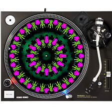 Portable Products Dj Turntable Slipmat 12 inch - Cartoon Chicken Zombie
