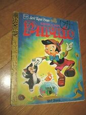 PINOCCHIO IN INDONESIANO, 1979  ILLUSTRATO disney, CARLO COLLODI