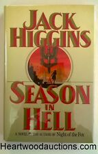 A SEASON IN HELL by Jack Higgins FIRST