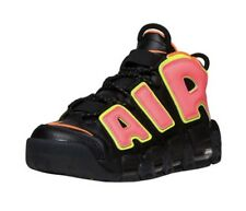 Brand New Women Nike Air More Uptempo Black Hot Punch US Size 8