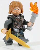 LEGO LOTR GONDOR BOROMIR MINIFIGURE MINAS TIRITH - MADE OF GENUINE LEGO PARTS