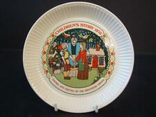 WEDGWOOD QUEENSWARE CHILDRENS STORY PLATE HANSEL & GRETEL BROTHERS GRIMM 1976