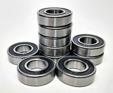 Qty-10 6202-2RS C3 Double Sealed Bearing 15x35x11mm ABEC1
