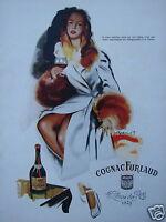PUBLICITÉ 1947 COGNAC FURLAUD - ADVERTISING