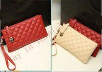 Fashion New Women Soft Leather Clutch Wallet Long PU Card Purse Handbag Clutch