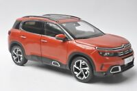 Citroen C5 Aircross car model in scale 1:18 orange
