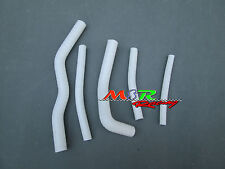 for Suzuki RM125 RM 125 1996-2000 SILICONE RADIATOR HOSE KIT WHITE