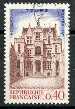 STAMP / TIMBRE FRANCE OBLITERE  N° 1525 HOTEL GOUIN A TOURS