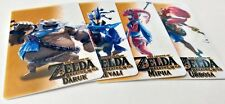 Zelda Breath of The Wild Amiibo Champions. V3. Daruk Revali Urbosa Mipha. SALE!