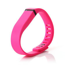 New FITBIT FLEX Replacement Wristband Band + Clasp OEM Quality LARGE Pink Band