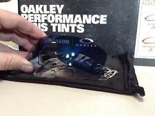 Oakley Batwolf Ice Iridium Replacement lens Brand New w/ Batwolf Bag SKU# 43-358