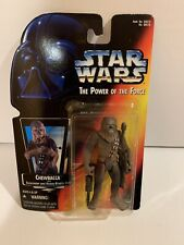 1995 Kenner Star Wars The Power of the Force TPOTF Chewbacca Figure