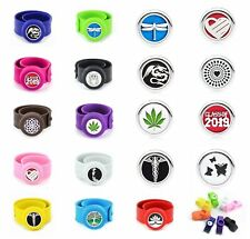 hot Kids Silicone Slap Bracelets Aromatherapy Essential Oil Diffuser Wristband