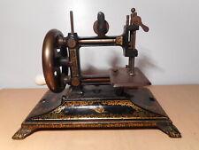 Machine à coudre ancienne manuelle 19 siècle tanpon marque fabricant