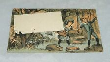 Victorian Advertising Home Furniture Company Boston Trade Business Card Antique