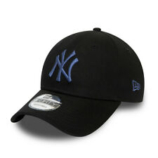 NEW ERA NEW YORK YANKEES BASEBALL CAP.9FORTY BLACK ESSENTIAL STRAPBACK HAT W20 0