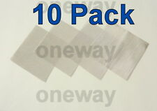 "(10 Pack) 4"" x 4"" - 125 Micron High Pressure Stainless Steel .0037"" wire"