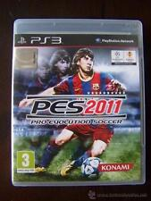 PS3 PRO EVOLUTION SOCCER 2011 PES - PLAYSTATION 3 - PAL ESPAÑA (4A)