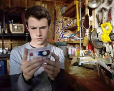 """13 Reasons Why Dylan Minnette as Clay Jensen 8x10"""" Reprint Signed Photo #2 RP"""