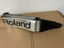 Vintage Roland Guitar Silver Strap Rare Read Description