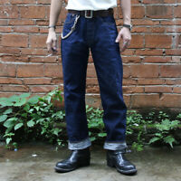 Bronson Repro 1947 Model Vintage Men's Jeans Selvedge Rigid Raw Denim Blue